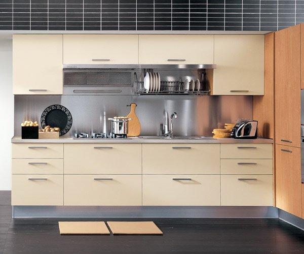 La cucina moderna in laminato MIXER dell arrital