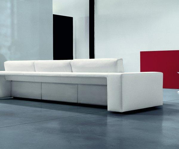 Il divano con seduta estraibile genius - Divano con seduta allungabile ...