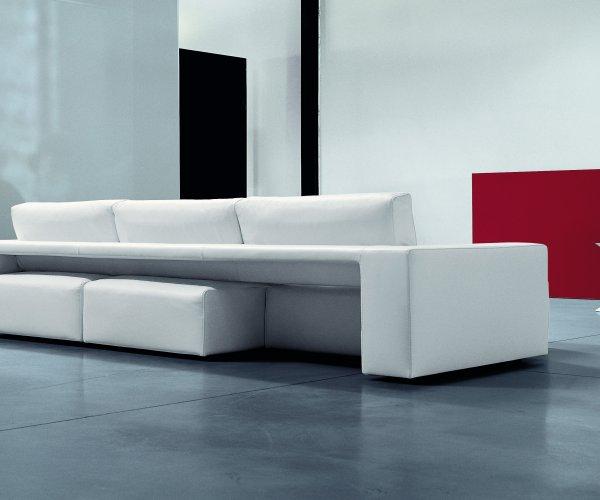 divano con seduta estraibile - GENIUS -