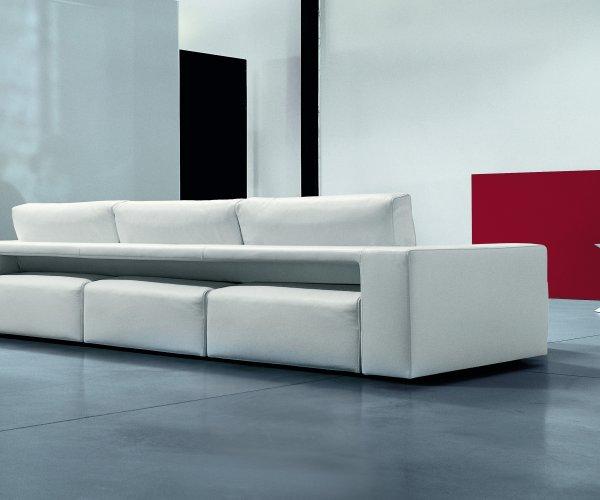 Il divano moderno con seduta estraibile genius - Divano con seduta allungabile ...